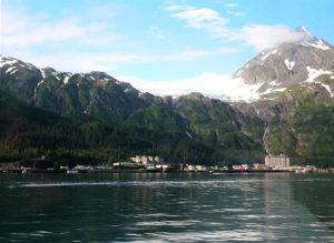 Whittier Alaska Skyline